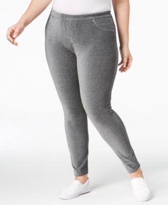 MICHAEL KORS Michael Michael Kors Plus Size Corduroy Leggings. #michaelkors #cloth # pants
