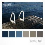 Colour Palette: Summer Dock
