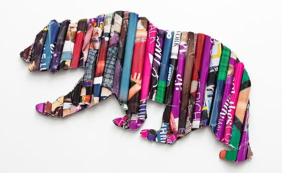 Decoração com revistas velhas — como fazer