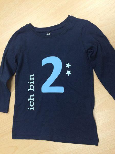 """Shirt mit Druck """"Ich bin ...""""  von Schnullidudi auf DaWanda.com"""