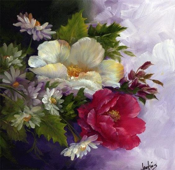 Gary Jenkins | American floral painter:
