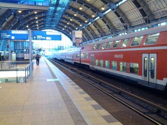 Estação em Berlim