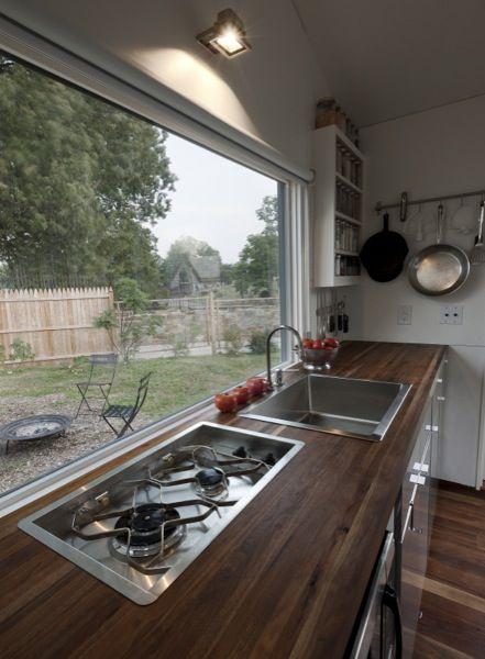 Minim Homes: Tiny House on Wheels at Boneyard Studios