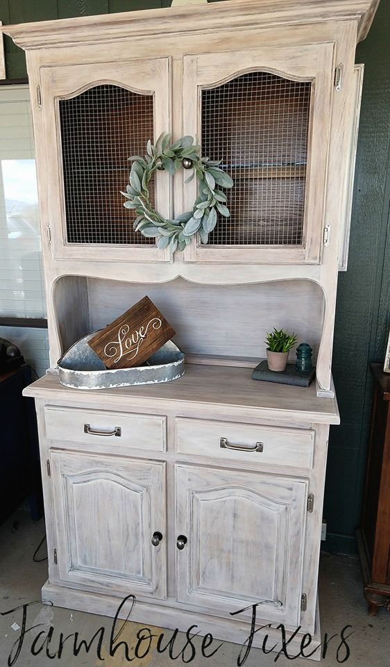 Create Your Own French Country Hutch With Farmhouse Fixers