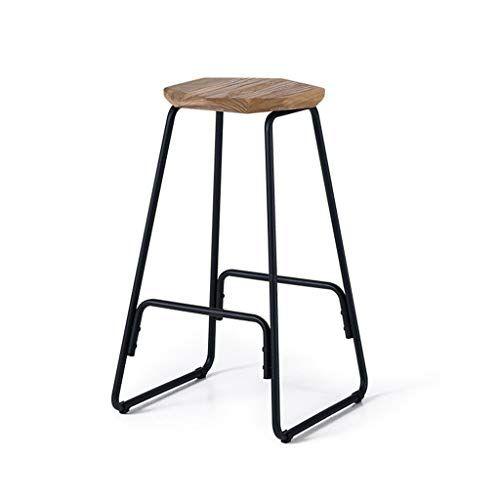 Wonlon Nordic Metal Barstools Minimalist Dressing Tall Stool Iron