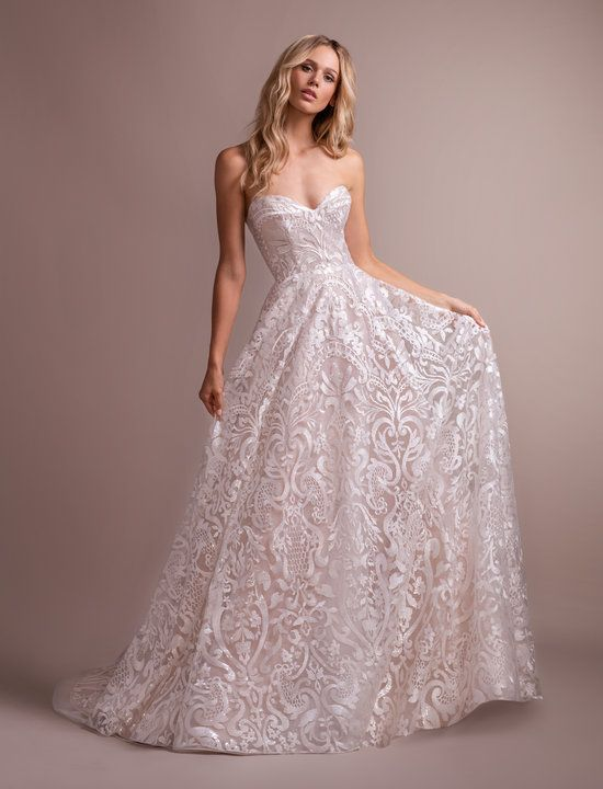 Style 6900 Marsden Hayley Paige Bridal Gown Ivory Luxembourg Long Sleeve Bal Hayley Paige Wedding Dress Designer Wedding Dresses Hailey Paige Wedding Dresses