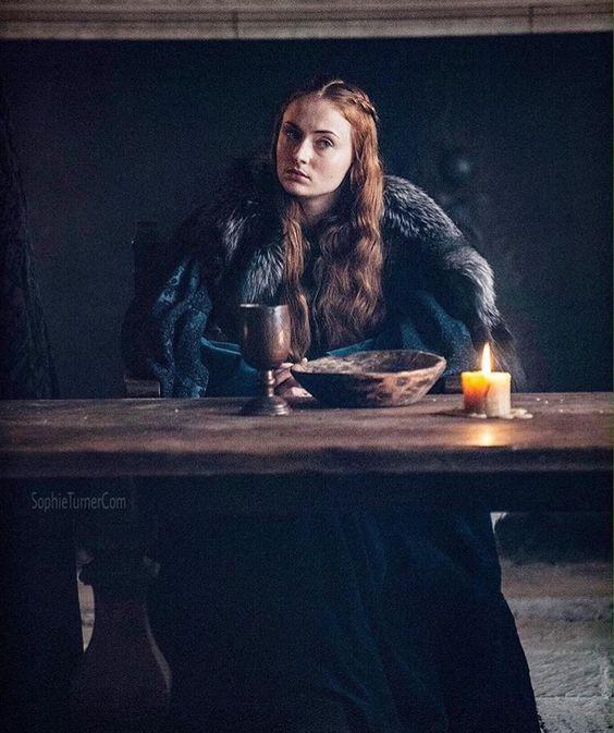 Sansa manteau bleu nuit