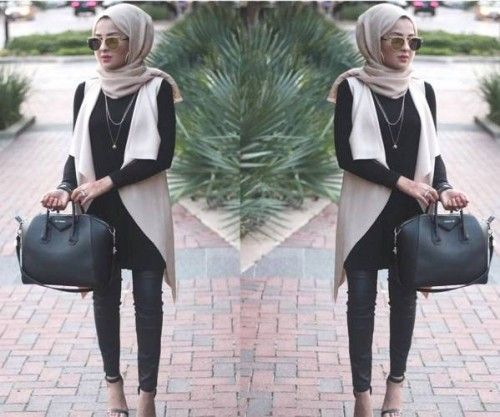 chic hijab style, Hijab looks by Sincerely Maryam http://www.justtrendygirls.com/hijab-looks-by-sincerely-maryam/: