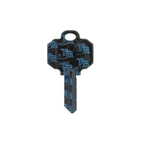 Tampa Bay Devil Rays Schlage SC1 House Key