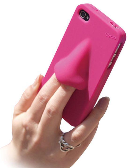 Une coque iPhone les doigts dans le nez ?