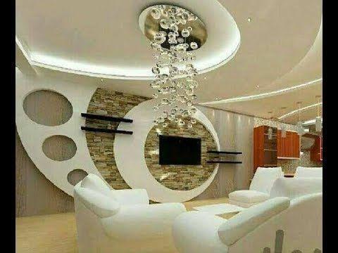 The Most Luxurious Decorations Of Gypsum Board 2018 Reception Lcd Screens افخم ديكورات جبس بورد 2018 ريسبشن شاشات Lcd Youtube Luxury Decor Decor Home Decor