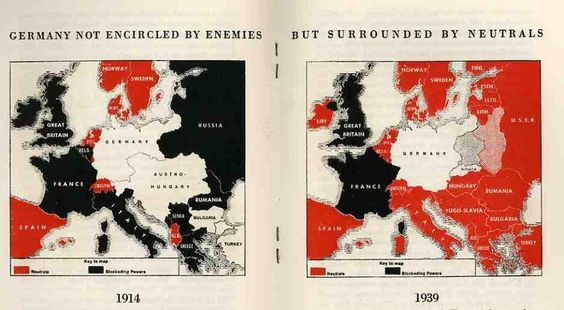 Germany not encircled by its enemies… (1940)