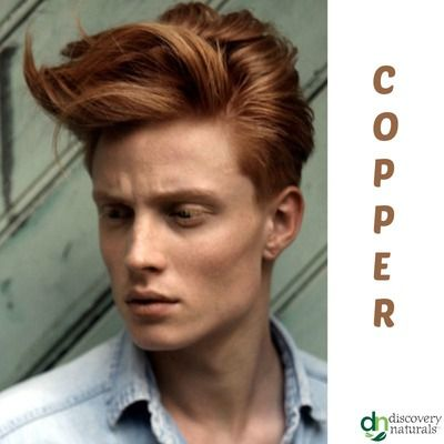 Manly Guy Copper | Shop Men's Henna Hair Color at HennaKing.com