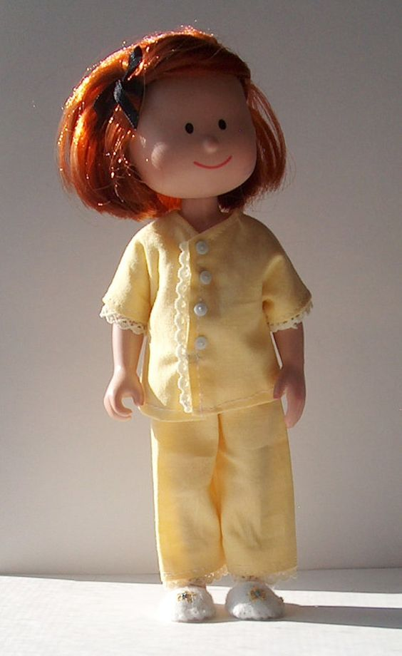 Doll Clothes Pajamas for Tiny Betsy McCall and Ann Estelle
