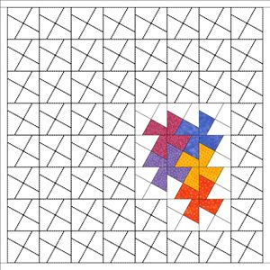 twister quilt pattern - Google Search