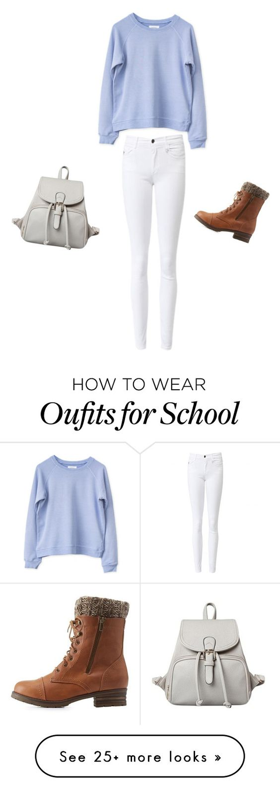 """""""School wear"""" by bri-style on Polyvore featuring Charlotte Russe"""
