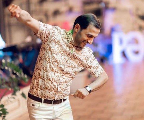 Perviz Bulbule Mens Tops Shirt Dress Fashion