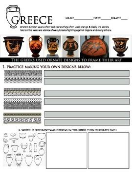 Art History Greek Story Vases Project