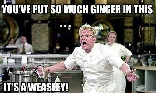 Too much ginger