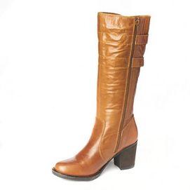 Henri Pierre Botte d'équitation « Valia » en cuir imperméable pour femmes