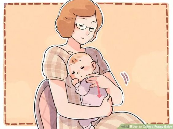 Image titled Calm a Fussy Baby Step 1