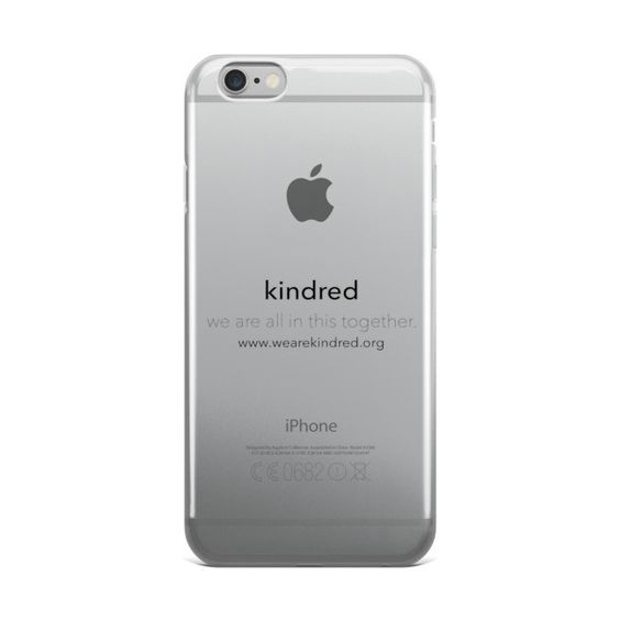 kindred. iPhone case