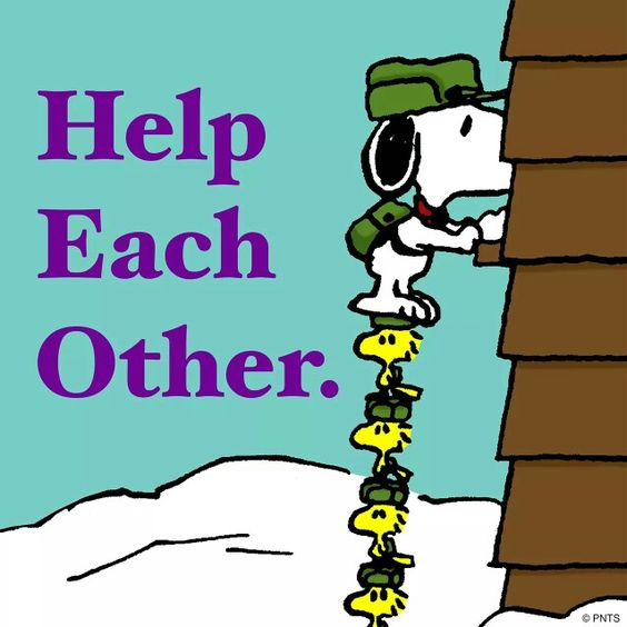 Teamwork Snoopy And Woodstock : Charles Schulz Snoopy Art, Make It ...
