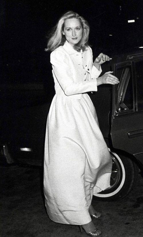 クラシカルなドレス、メリル・ストリープ