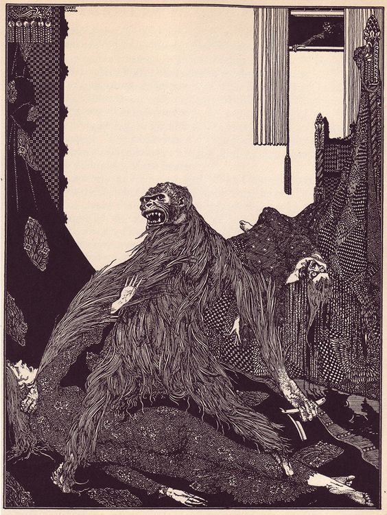 The Beautiful Illustrations That Made Poe's Stories Terrifying In 1919
