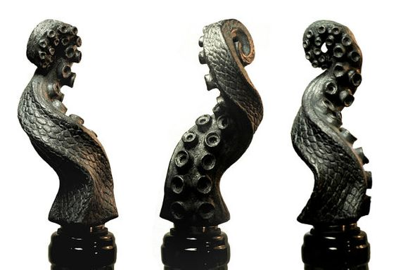 Tentacle wine stoppers!