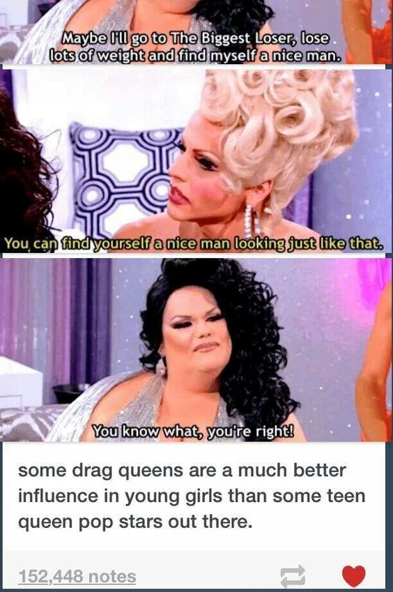 Rupaul's Drag Race Darienne Lake is awesome. She's funny, talented, and proving that she can go far this year.