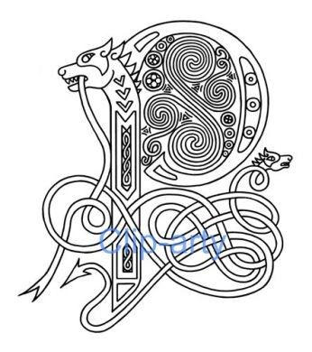 fancy capital p dragon - Google Search | Calligraphy ...