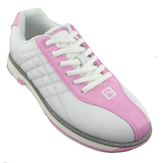 Brunswick Glide White/Pink Bowling Shoes | Brunswick Bowling Shoes ...