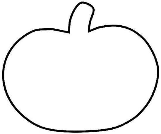 Printable Pumpkin Pattern