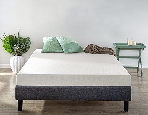 6 Inch Queen Size Green Tea Comfort Memory Foam Bed Mattress