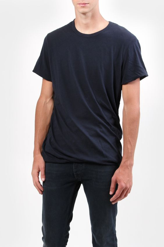 acne ginsberg twisted men's tee - very interesting idea
