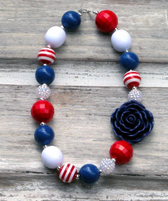 4th of july jewelry crafts