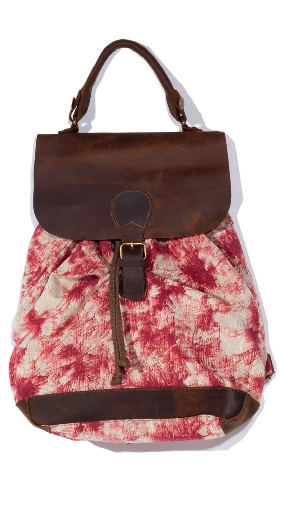 Levy Backpack - Red $39 was $ 120 >> Great for summer!
