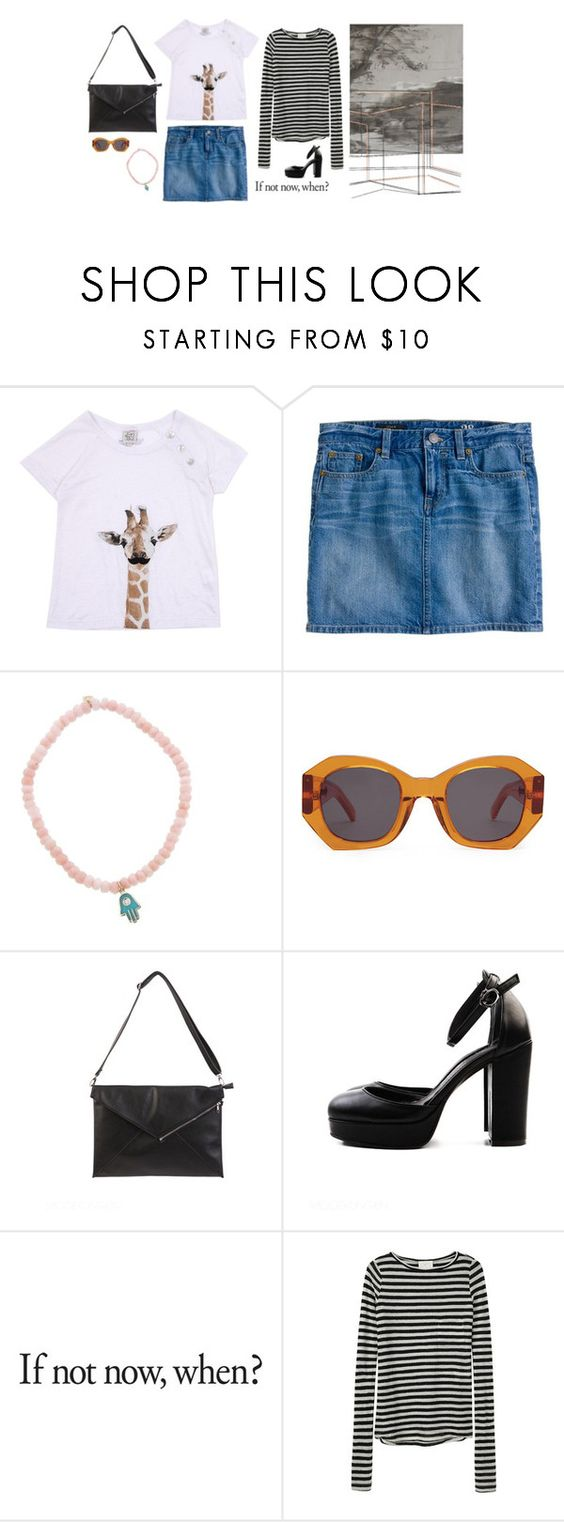 """almostBurst"" by believeuntilkeypressed ❤ liked on Polyvore featuring J.Crew, Sydney Evan, Karen Walker and Band of Outsiders"