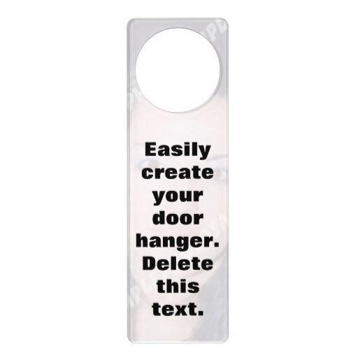 Easily create your own personalized photo door hanger for Create your own door