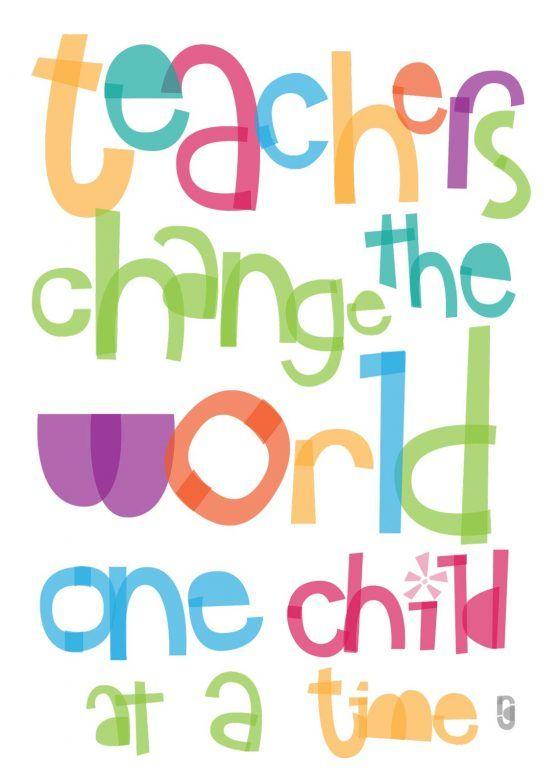 Take Two Teachers Day Teacher Change The World