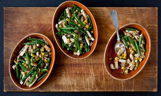 NYT Cooking: Spicy Stir-Fried Tofu With Corn, Green Beans and Cilantro