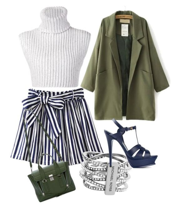 """Untitled #53"" by victorine-b ❤ liked on Polyvore featuring Baja East, Michael Kors, Yves Saint Laurent and 3.1 Phillip Lim"