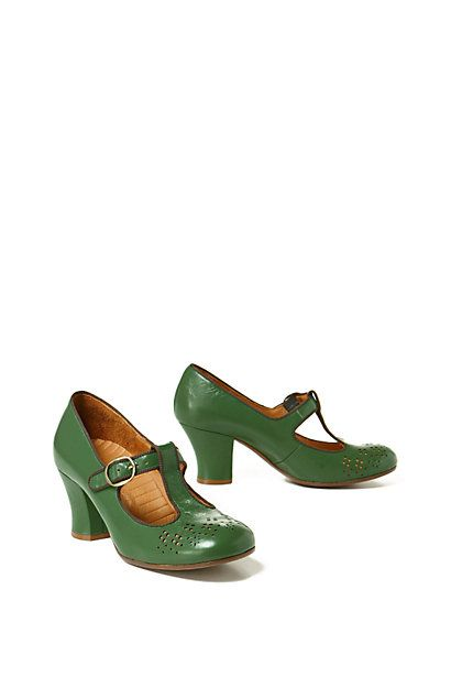 Chie Mihara Anthropologie Absinthe Heels...my white whale.