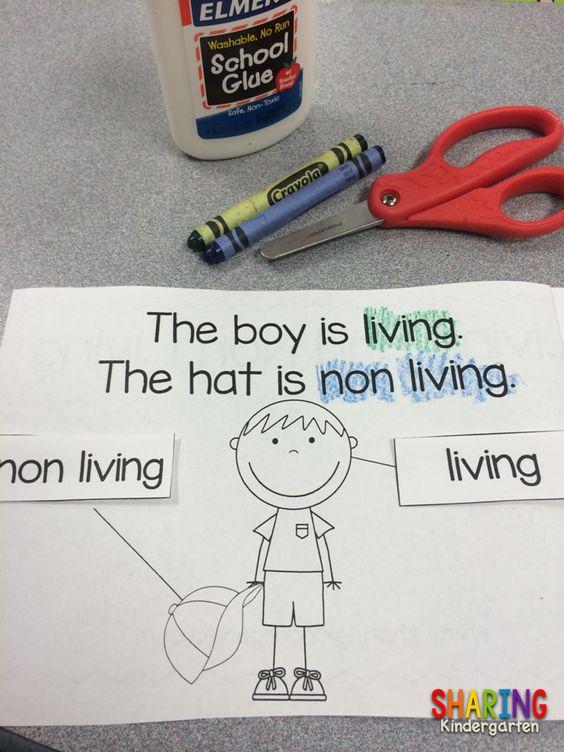 https://www.teacherspayteachers.com/Product/Living-and-Non-Living-Reader-1427059