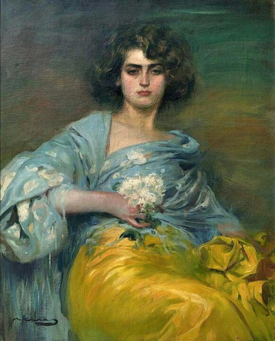 Ramon Casas i Carbó (Spanish, 1866-1932) - Julia