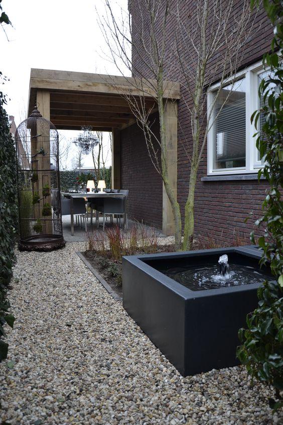 Eigen huis en tuin praxis een strakke look in de tuin for Tuin praxis