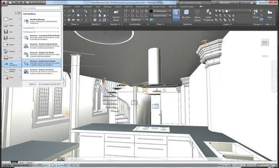 AutoCAD 2015 Screenshot