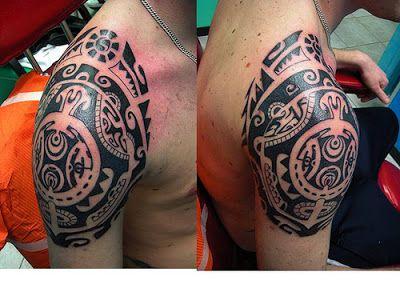 Fotos de Tatuagens: Maori Ombro