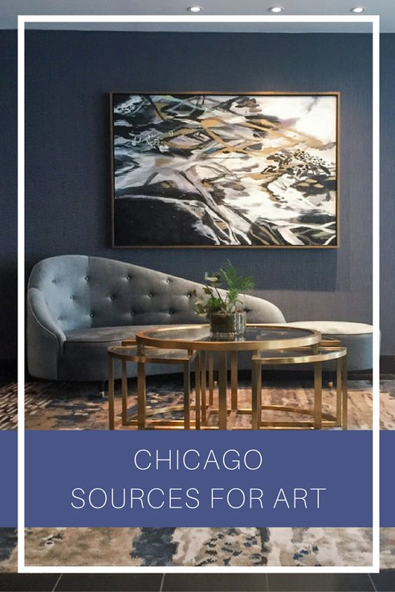 Top Sources for Art in Chicago - Chicago is full of incredible sources for art with amazing staff that can point homeowners and designers alike in the right direction. Here are some of our favorites! #Blog #Art #Design #Chicago